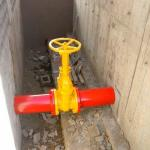 Montagem de hidrantes
