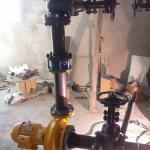 Instalação de equipamentos de combate a incêndio