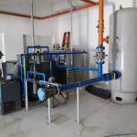Instalação de sistema de ar comprimido