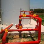 Instalação de sprinklers