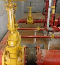 Instalação de sistemas contra incêndio